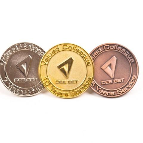 Custom Metal Award Badges F8629