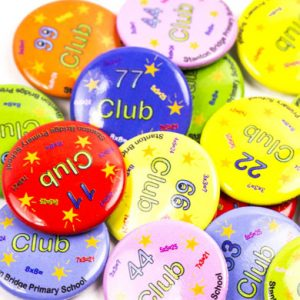 Club button badges