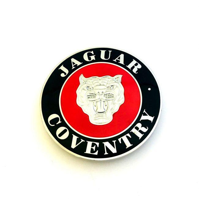 Jaguar Coventry car grill badge
