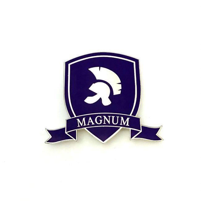Magnum Car grill metal badge