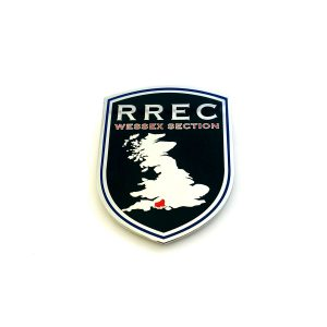 RREC grill badge for car