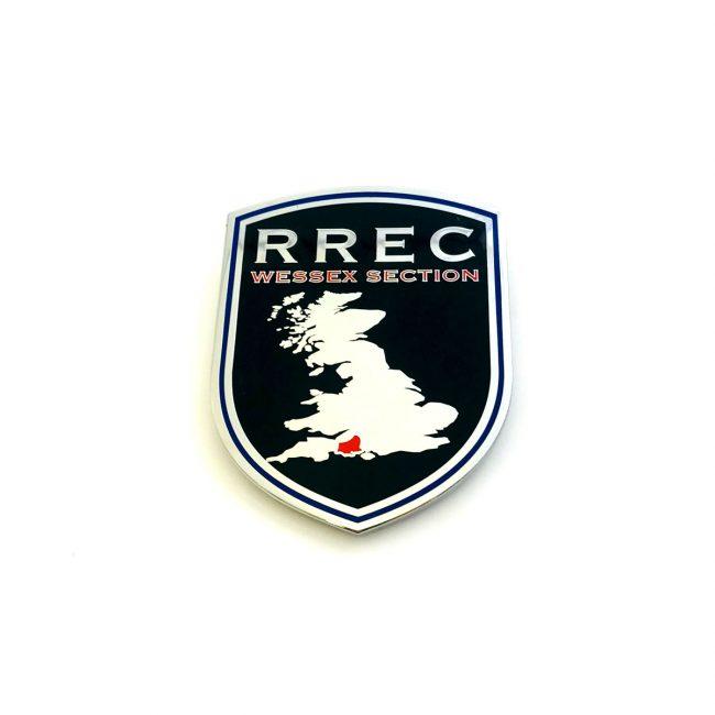 RREC grill badge for car