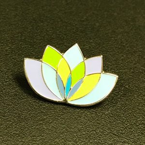 charity badge, enamel badge, lapel pin