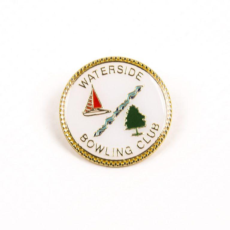 Circle Waterside Bowling Club gold badge