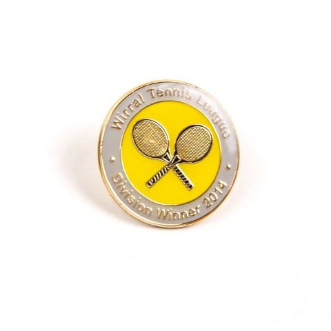 Custom Tennis Club Badge F8426