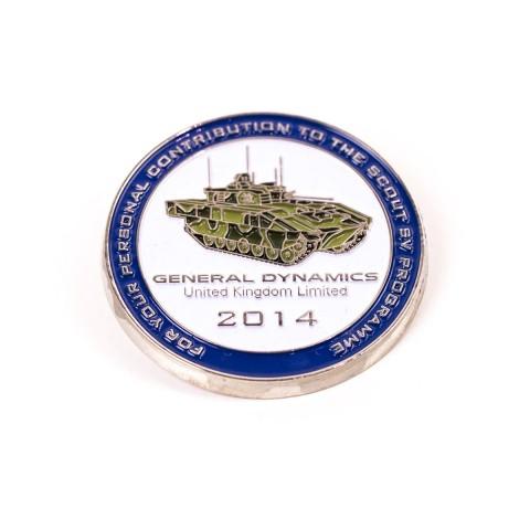 General Dynamics Commemorative Coins F8765