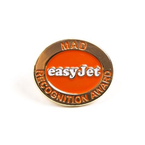 EasyJet award corporate badge 8433