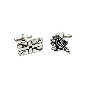 custom cufflinks, personalised cufflinks, metal cufflinks