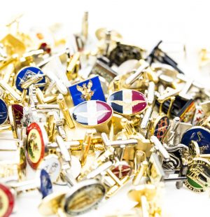 custom cufflinks, personalised cufflinks, metal cufflinks, bespoke cufflinks