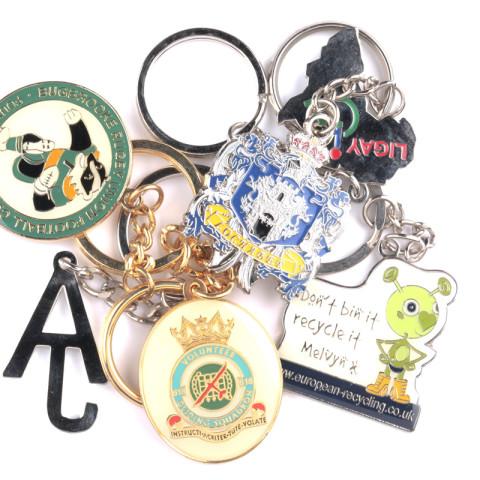 Personalised Metal Keychains 8002