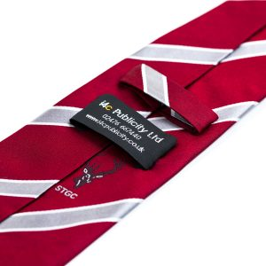 custom ties, personalised ties, bespoke ties, labelled ties