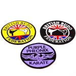 custom embroidered badges, personalised embroidered badges, woven embroidery badges