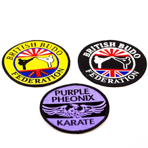 Custom Woven and Embroidery Badges 8803
