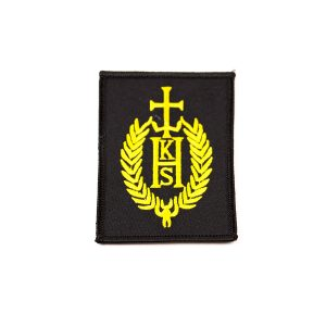 custom embroidered badges, personalised embroidered badges, woven cloth embroidery badges