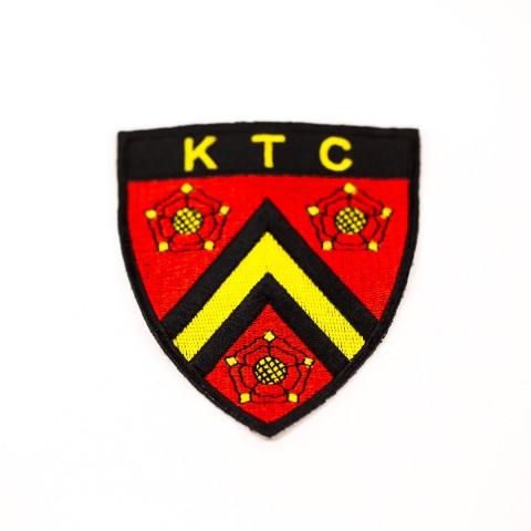 KTC Custom Embroidered Badge F8815