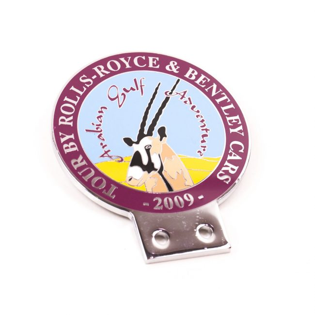 custom grill badges, custom car grill badges, Hard Enamel Grill Badges