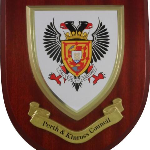 Personalised Heraldic Plaques 002
