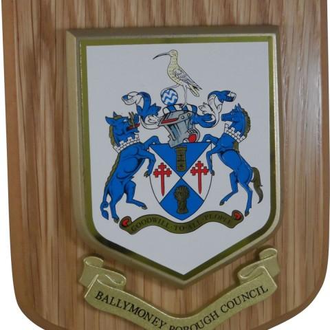 Custom Made Heraldic Plaques 003