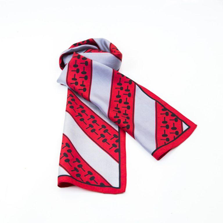 polyester scarves, custom personalised ladies scarves