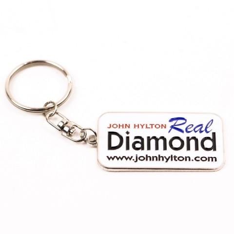 Personalised Name Metal Keychains 8710