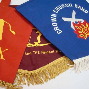 Custom Pennants, sports pennants, flags pennants, personalized pennants, music stand banner