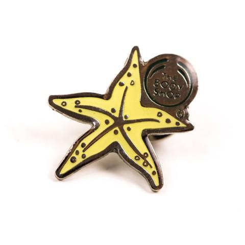 Custom Starfish Pin Badge 8458