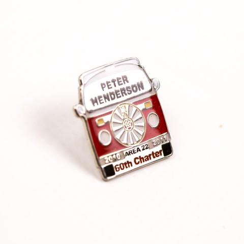 Peter Pin Badge 8462