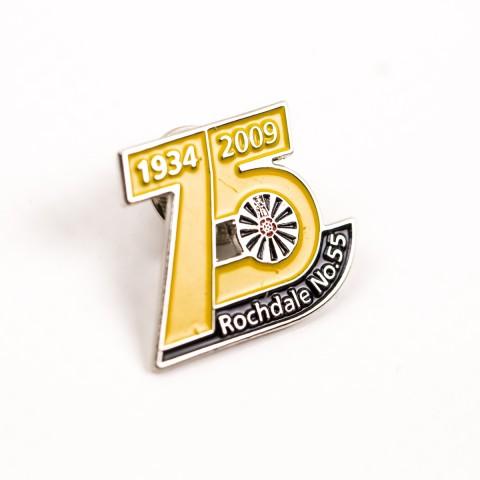 Rochdale pin badge 8467