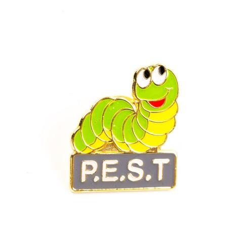 PEST Pin Badge F8522
