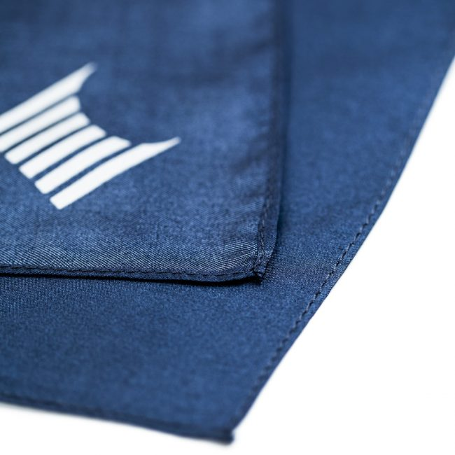 custom printed pocket squares, personalised rolled pocket squares