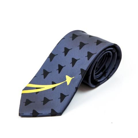 Grey Promotional Tie F9026
