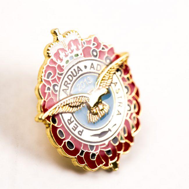 custom regimental badges, personalised regimental badges, soft enamel badges