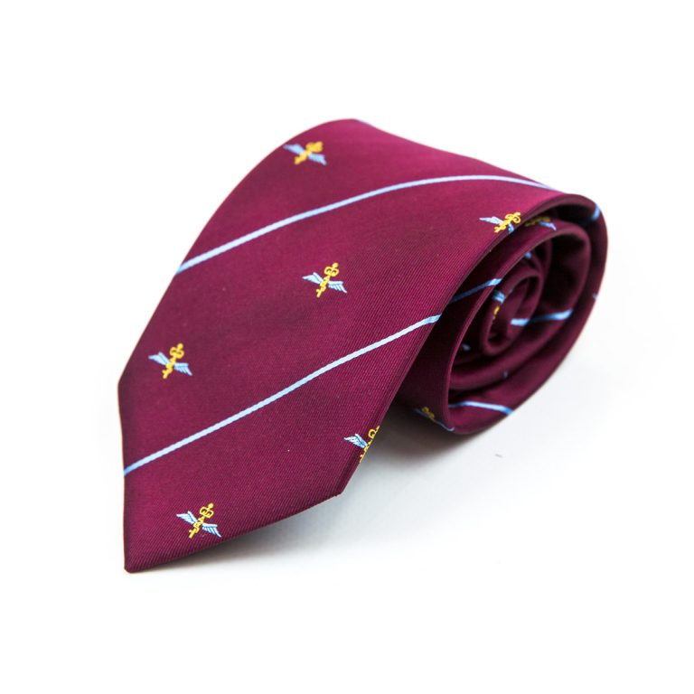 custom regimental ties, personalised regimental ties