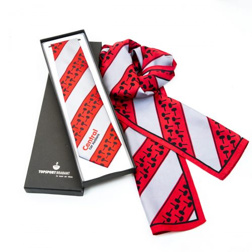 custom scarves and presentation boxes