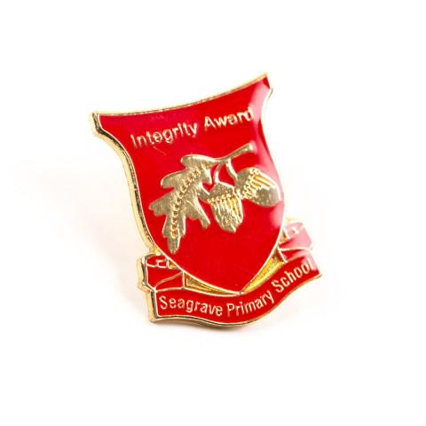 Integrity School Award Badge 8591
