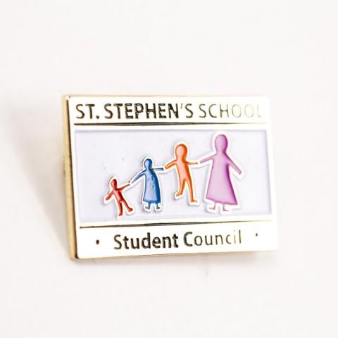 Custom Student Council School Badge 8596