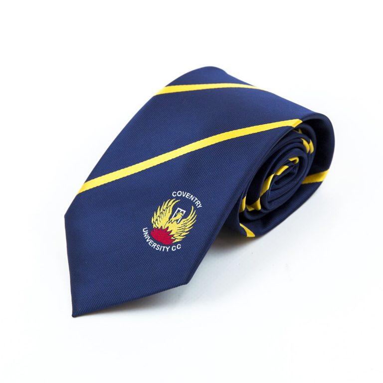 Custom university ties, personalised university ties, Coventry university ties