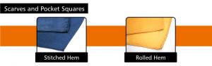 custom ladies scarves, custom pocket squares, personalised scarves and pocket squares