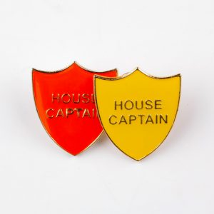 custom school badges, personalised school badges, house captain school badges
