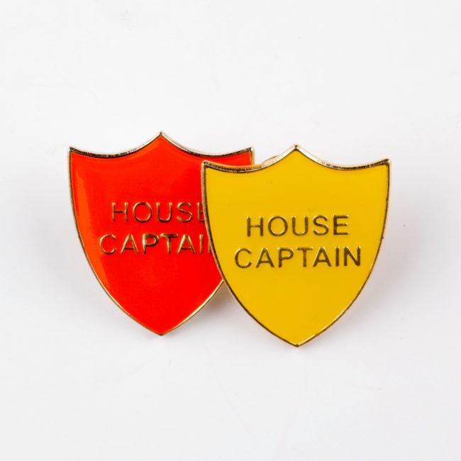 custom school badges, personalised school badges, house captain school badges