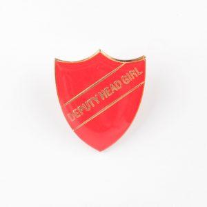 custom badges, personalised badges, deputy head girl school badges