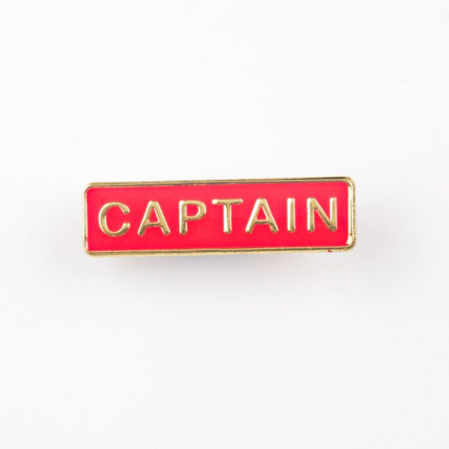 custom badges, personalised badges, school captain bar badges