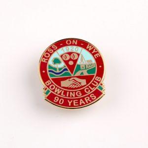 custom badges, personalised badges, bowling club badges