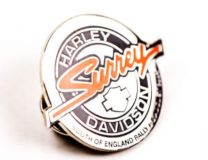 Harley Davidson round badge